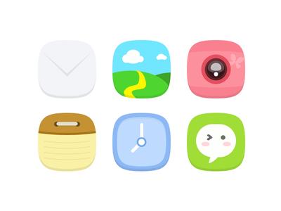 Simple Color Icon