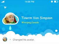 Cloud services app for children