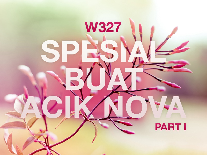 Special for Aunt Nova 1 special flower nature typography part1