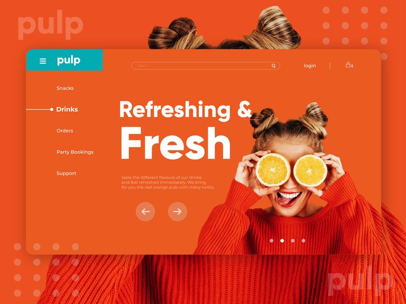 Pulp UI concept