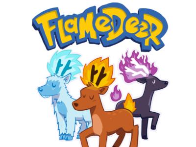 Flamedeer Tee