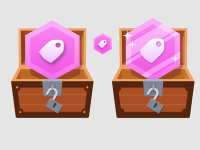 There Be Treasure badge design affinity designer illustration