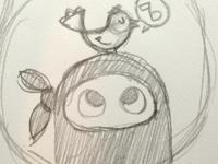 Tweet Ninja Sketch