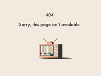 404 page | Simple Animation