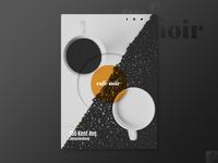 Cafe Noir Poster Showcase