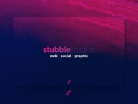 Stubble Studios Brand Poster