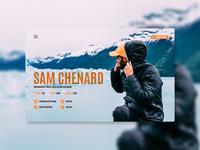 Sam Chenard Website Profile