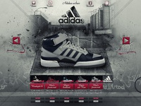 Adidas webshop concept