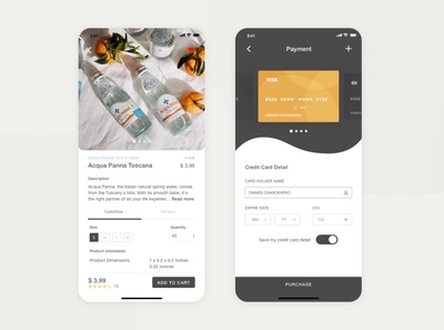 Daily UI Challenge #002 ▹ Checkout Credit Card