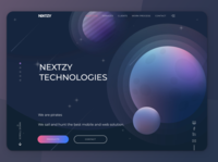 Daily UI Challenge #003 ▹ Landing Page