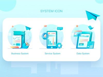 System Icon icon illustrator illustration design