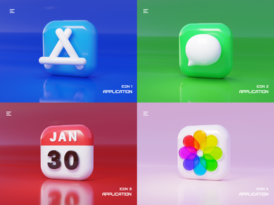 Application icon logo illustration design