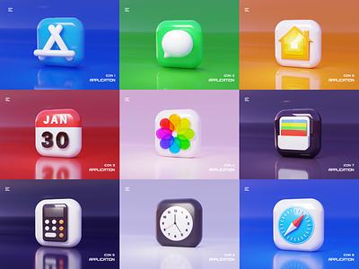 APP ICON icon illustration design