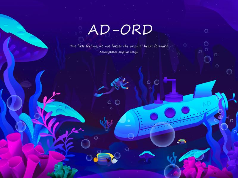 AD-ORD illustration website illustrator ux app illustration design
