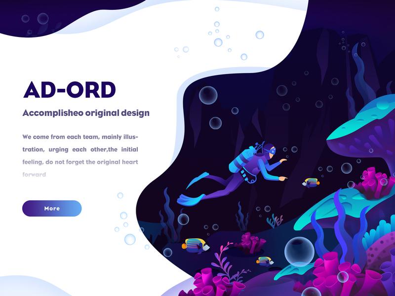 AD-ORD illustration2 website web illustrator illustration design