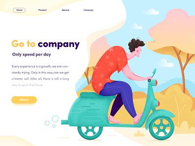 Go To Company illustrator illustration design