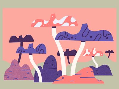Mushroom zone