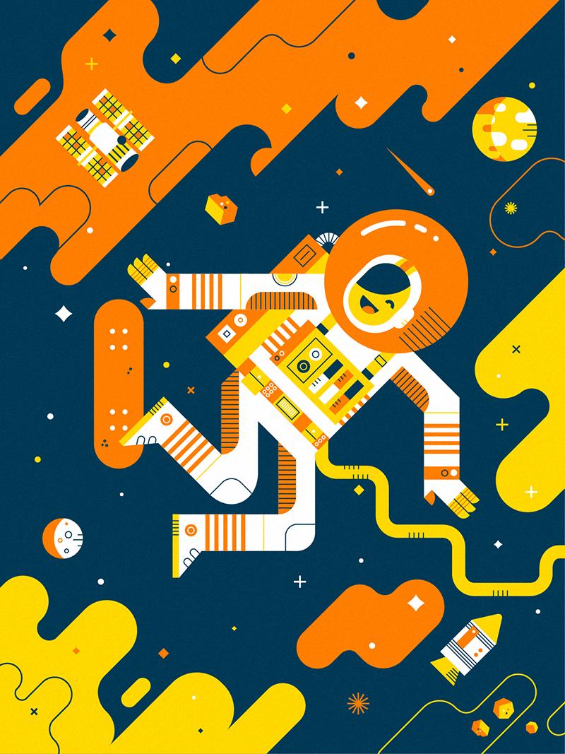 Space skate full