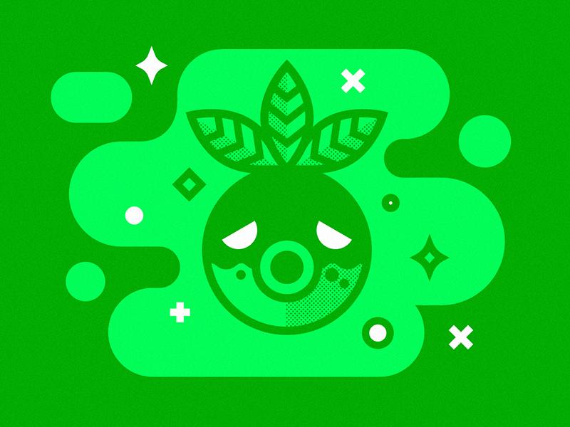 Majora's Mask Masks 01 - Deku Mask