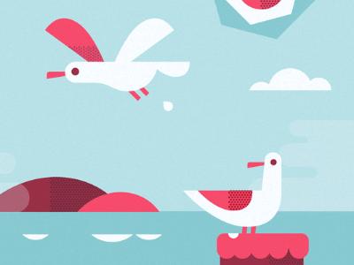 The Embarcadero seagulls poop embarcadero sf