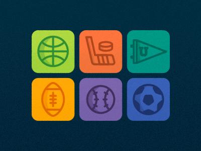 Sports! icons sports illustration