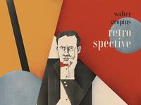 Poster Walter Gropius