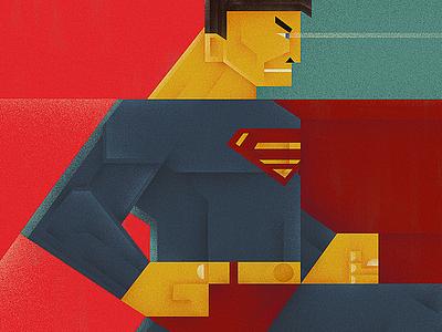 Superman digital art photoshop art photoshop wacom cintiq digitalart art poster illustration dccomics superhero superman