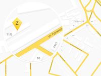 Map for presentation