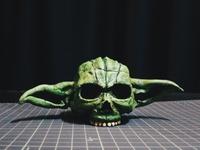 Yoda Skull