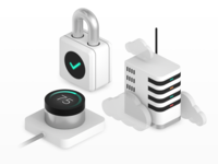 Internet of Things - 3D Icons