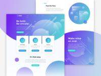 Orbit - Landing Page Design