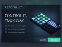 RE/CTRL - Product Mockup