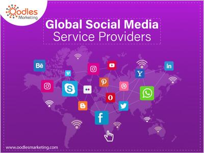 Global Social Media Service Providers online marketing agency social media marketing services social media experts social media marketing agency social media management company