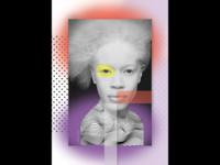 7-day-challenge: Photoshop Collage 'Albino'