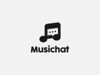 Music note + Chat