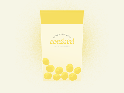 Confetti Sweets illustration