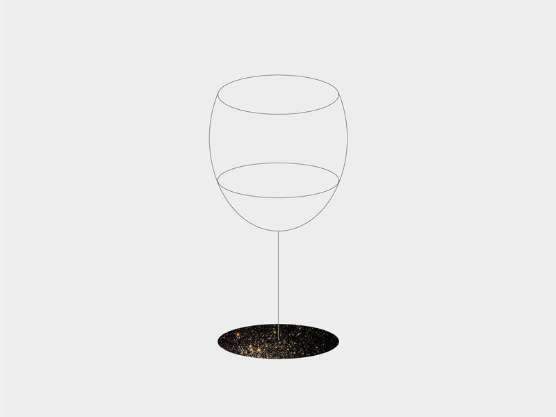 Looking beyond our differences drink love ilustración vino lineart wine universe black line illustration