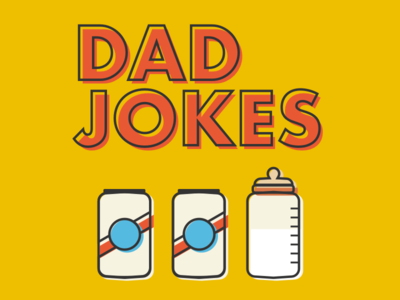 DadJokes show art beer illustration show art podcast dadjokes dad jokes father dad