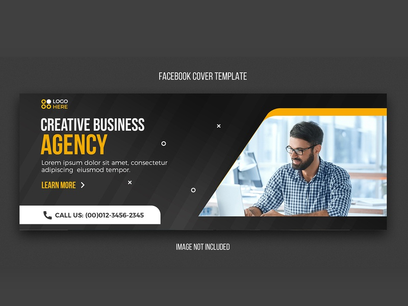 Agency modern facebook cover design template creative background abstract web design freepik psd photoshop agency social media facebook cover cover web banner web flyer design business tempalte banner