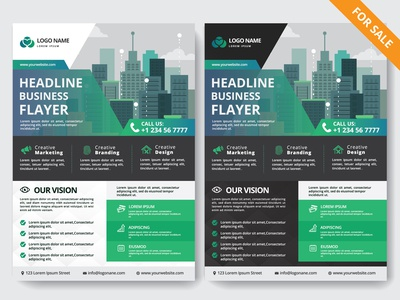 Corporate Business Flyer for sale