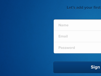 Sign in to Evomail email ios ipad app onboarding login