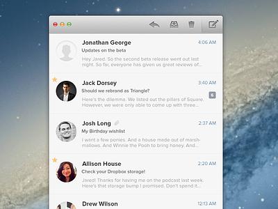 Evomail for Mac email mail mac app