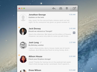 Evomail for Mac email mail mac app