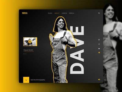 Prototipo Web Nirvana - Dave