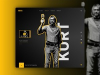 Prototipo Web Nirvana - Kurt