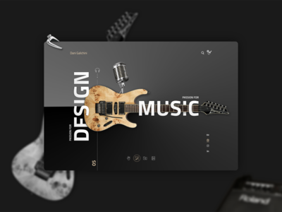 Passion for Design | Passion for Music