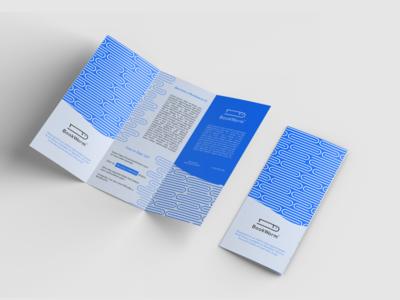 Bookworm Trifold Brochure