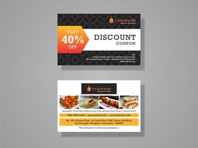 Discount Coupon Card