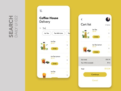 Day 022 - Search Daily UI Design Challenge