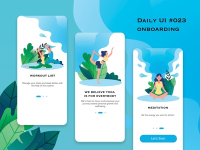 Day 023 - Onboarding Daily UI Challenge